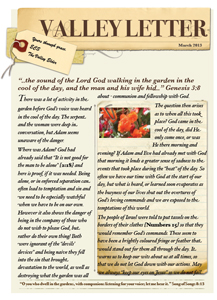 Valley Letter - August 2013